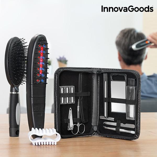 Afbeelding van Innovagoods Elektrische Anti-Haaruitval Borstel met accessoires