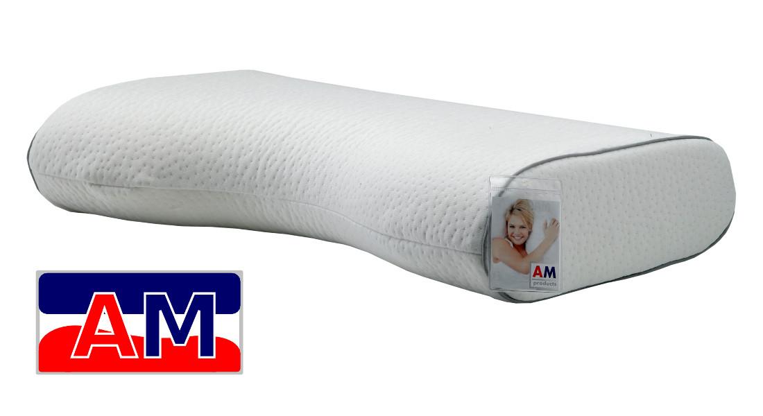 Afbeelding van AMproducts Marcato talalay latex hoofdkussen Medium 11/13 cm.