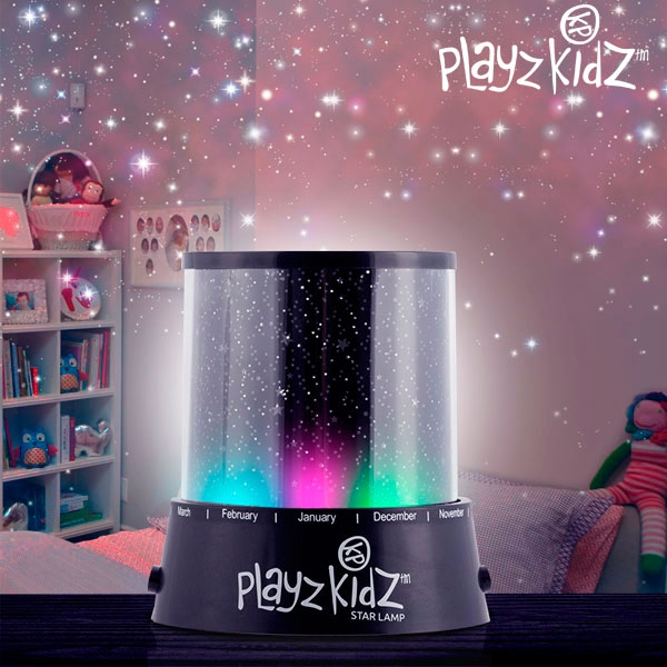 Playz Kidz Ledlamp Sterrenprojector