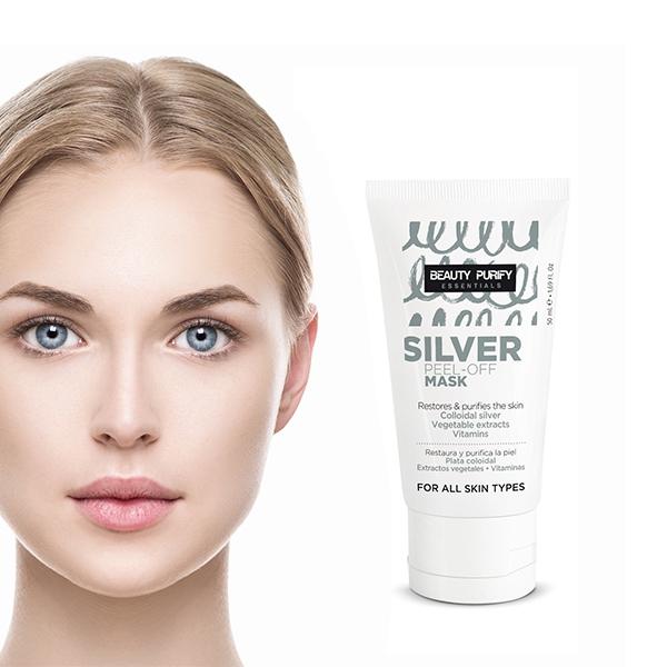 Afbeelding van Beauty Purify Silver Peel-Off Mask - Gezichtsmasker