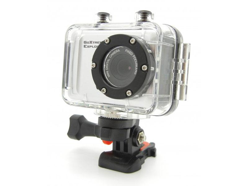 GoXtreme Explorer Full HD Action Camera silver Easypix